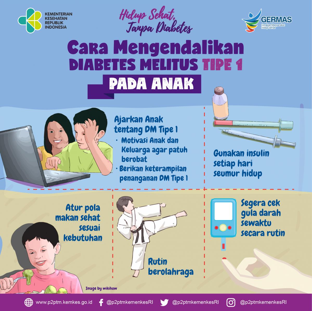 penyakit diabetes melitus pada anak