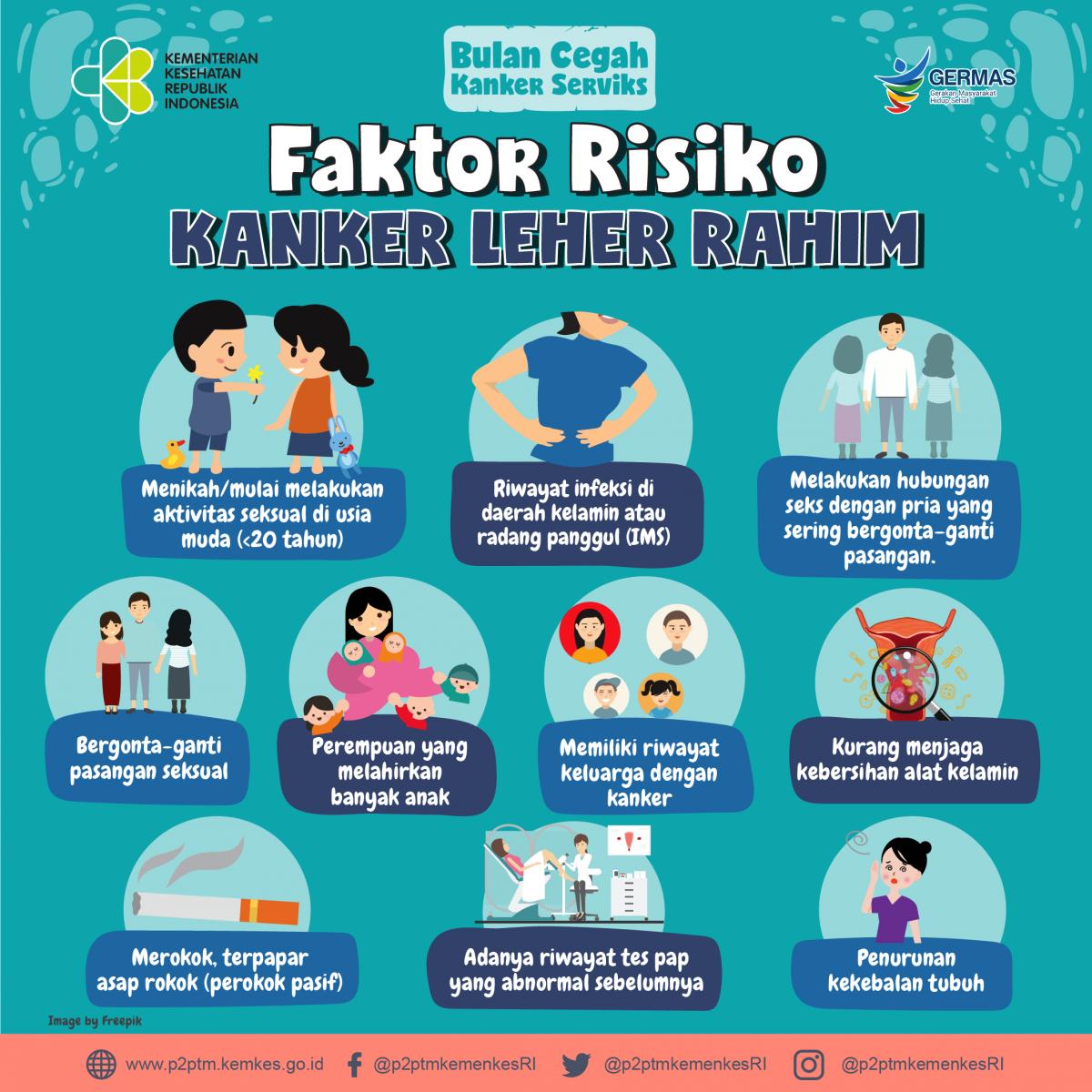 Faktor Penyebab Kanker Rahim - Eva